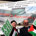 Michael D Higgins (left) and David Norris at an IPSC rally in 2008