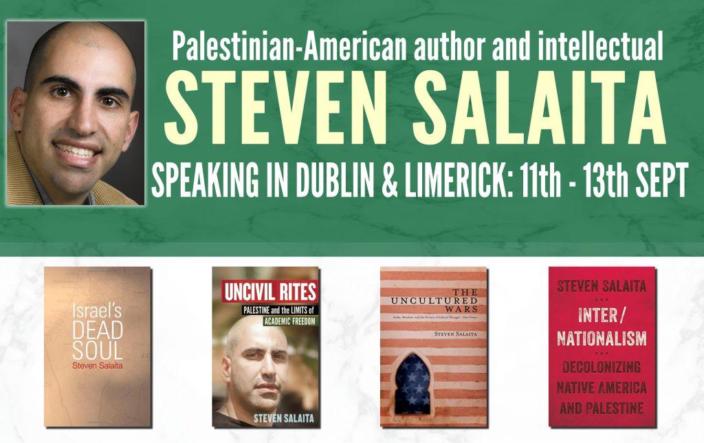 Palestinian Intellectual Steven Salaita In Dublin Limerick 11